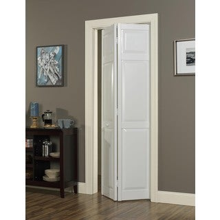 Seabrooke 30x80-inch White PVC Raised Panel Bifold Door
