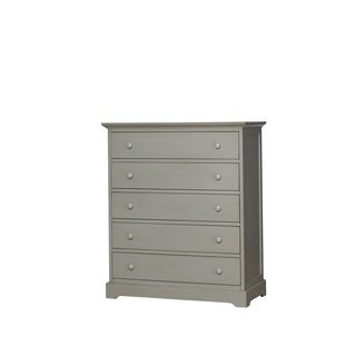 Munire Chesapeake 5 Drawer Chest-Light Grey