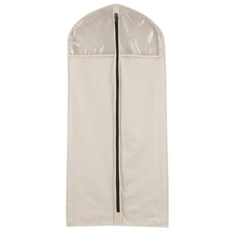 Cedarline Natural-tone Hanging Garment Bag - N/A