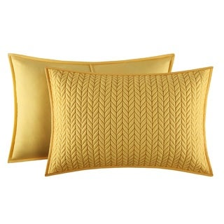 Five Queens Court Catori Banana Quilted King-size Sham