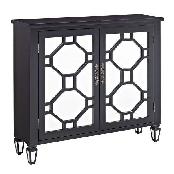 Hex Black 2 Door Console