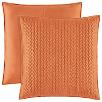Five Queens Court Catori Quilted Euro Sham