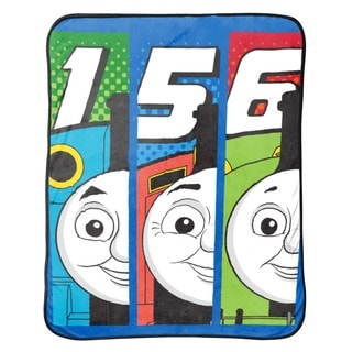 Thomas The Tank Engine T- Block Silk Touch Throw