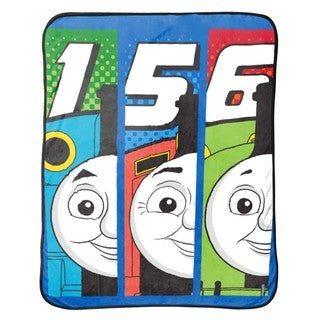Link to Thomas The Tank Engine T- Block Silk Touch Throw Similar Items in Toy Vehicles