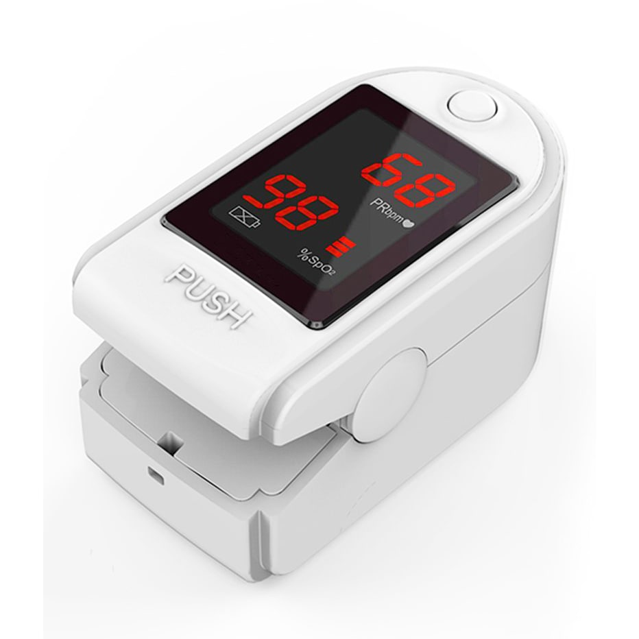 Concord Basics White Finger Pulse Oximeter