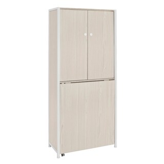 Sewing Rite Sew Ready White Birch Craft Armoire
