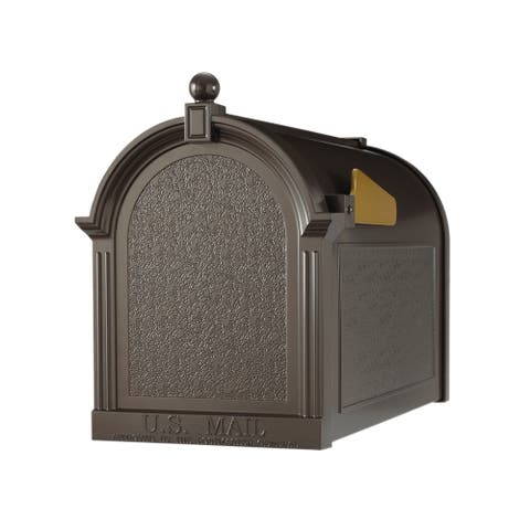 White Hall Home Outdoor Capital French Bronze Mailbox