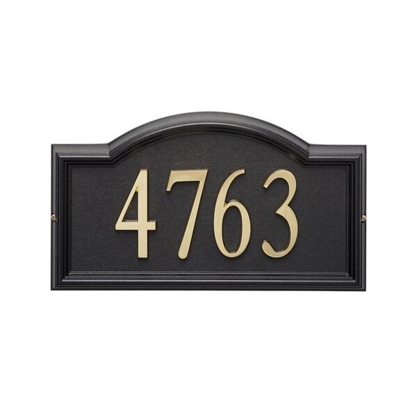 Atlas Homewares OHN7 Black Metropolitan Address Number 7