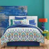 Five Queens Court Palmetto Caribbean 4-piece Comforter Set