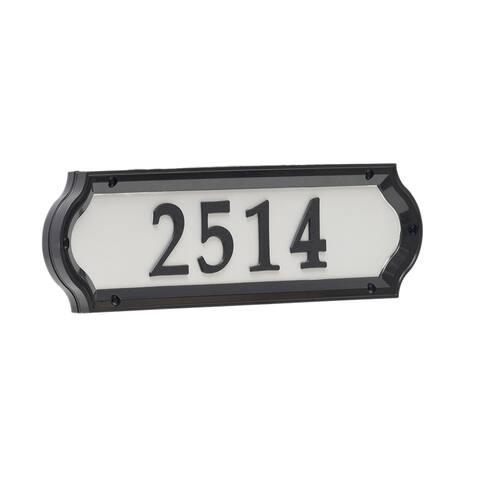 White Hall Nite Bright Richfield Home Address Sign