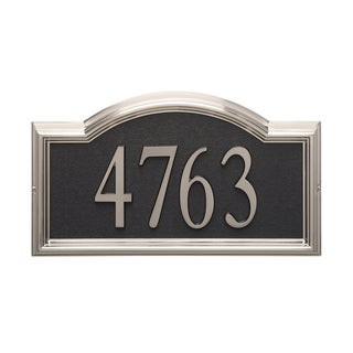 White Hall Design-it Brushed Nickel 4 Arch Plaque