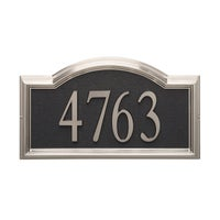 Blue House Numbers