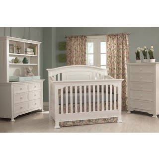 Centennial Medford Lifetime White 4-in-1 Crib