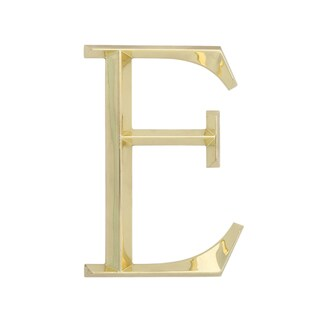 Whitehall Brass 6-inch Classic Letter 'E' Sign
