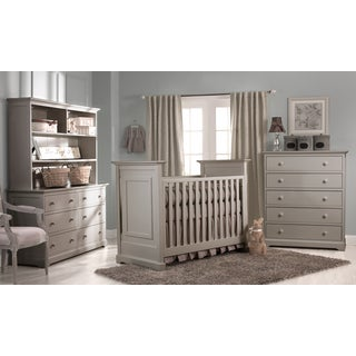 Centennial Chesapeake Classic Light Grey 3-in-1 Crib