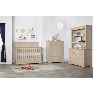 Munire Chatham Flat Top Lifetime 4-in-1 Crib- Driftwood