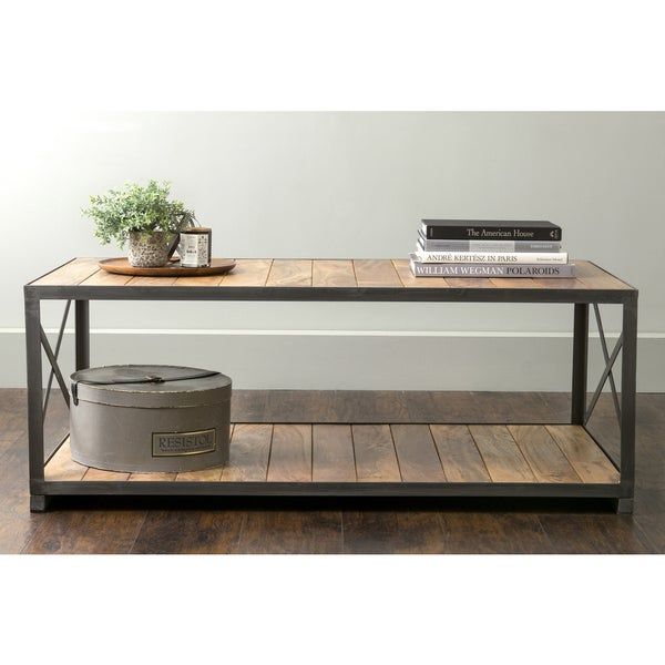 Shop East At Main's Vail Brown Rectangular Coffee Table
