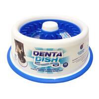 DentaDish Teeth Cleaning/Slow Feeding Dog Bowl