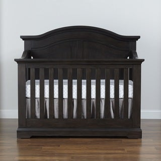 Munire Chatham Curved Top Lifetime 4-in-1 Crib- Slate