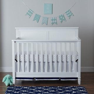 Suite Bebe Asher 3-in-1 Crib-White