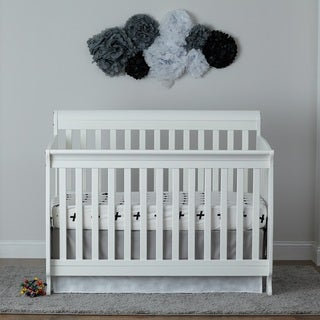 Suite Bebe Riley White Wood 3-in-1 Crib