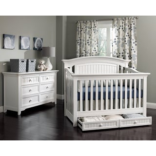 Suite Bebe Winchester Lifetime White 4-in-1 Crib