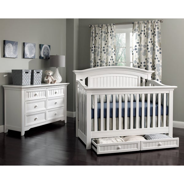 Suite Bebe Winchester Lifetime 4 In 1 Crib  White