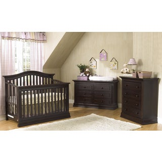 Suite Bebe Dakota Lifetime Espresso 4-in-1 Crib