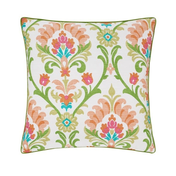 Five Queens Court Palmetto Citrus 20-inch Decorative Pillow