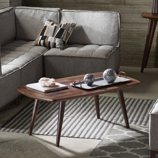INK+IVY Renu Light Brown Multi Coffee Table