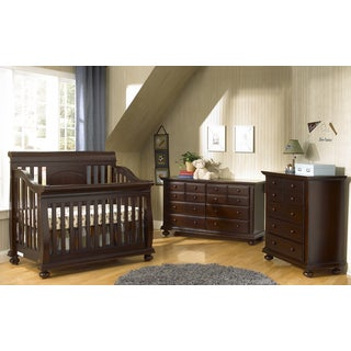 Suite Bebe Barcelona Lifetime Cherry 4-in-1 Crib
