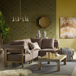INK+IVY Easton Natural Coffee Table