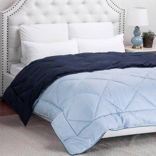 Reversible Pebble Textured Down Alternative Comforter by Bedsure Designs