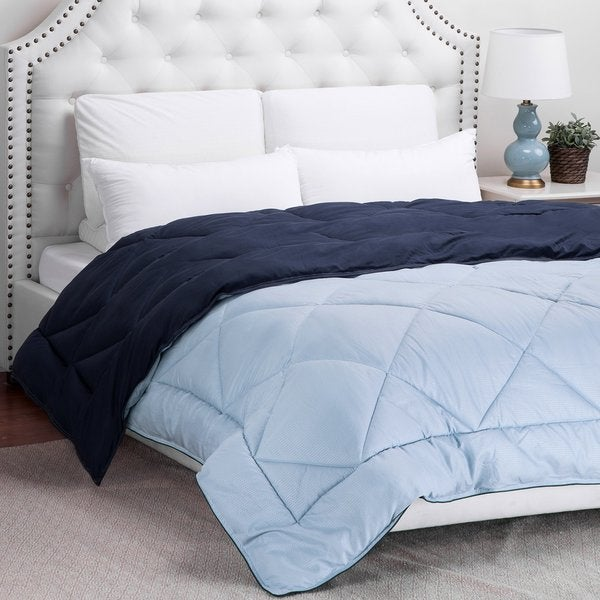 Reversible Down Alternative Comforter Pebble Textured by Bedsure Designs