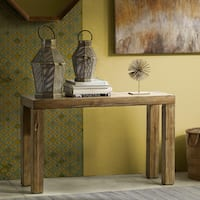 INK+IVY Easton Natural Console Table