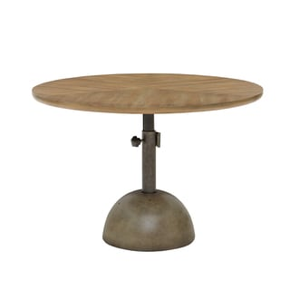 INK+IVY Discus Brown Accent Table