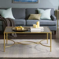 """Madison Park Signature Turner Coffee Table 2-Color Option - 45""""w x 28""""d x 18.25""""h"""