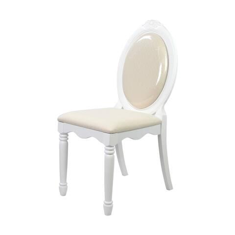 Acme Furniture White Flora Chair