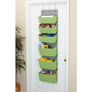 6-Pocket Over the Door Organizer - N/A