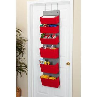 6-Pocket Over the Door Organizer