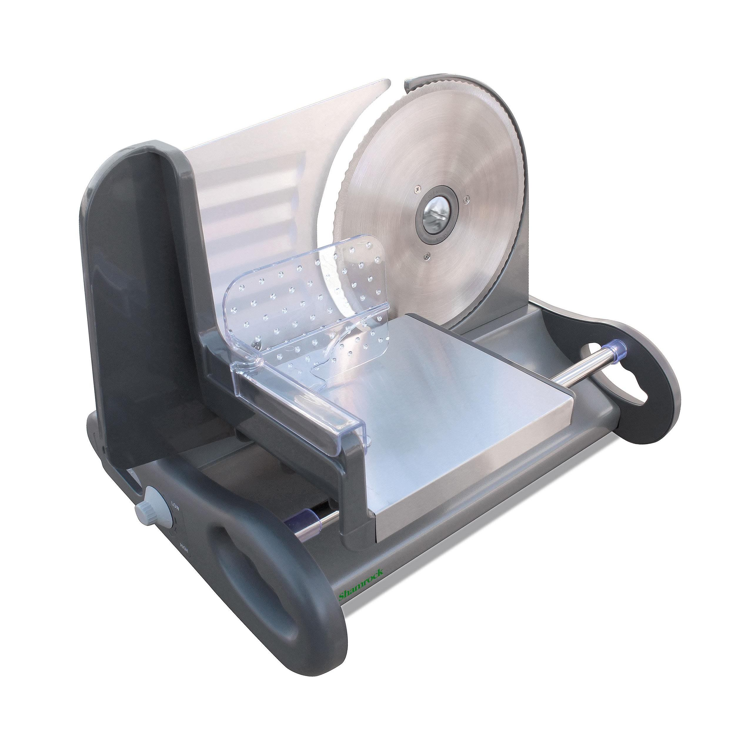 Shamrock X-Large 8.5 Stainless Steel Food Slicer with Spe...