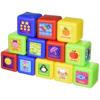 Play and Learn Giant Plastic Play Blocks
