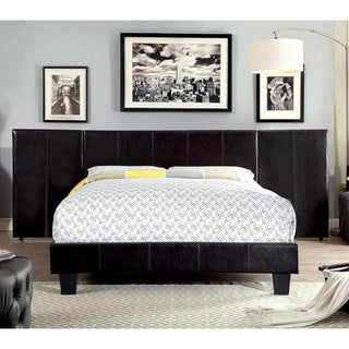 Furniture of America Kutty Contemporary Padded Leatherette Headboard Panels (Set of 2)