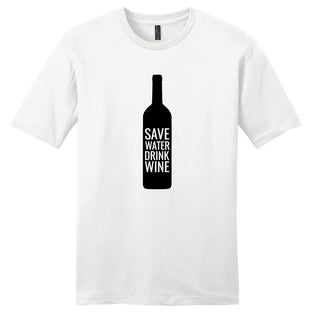 Save Water Drink Wine - Funny Drinking Unisex T-Shirt