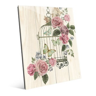 'Butterfly Cage' Acrylic Wall Art Print