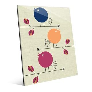 'Baby Birds' Acrylic Wall Art Print