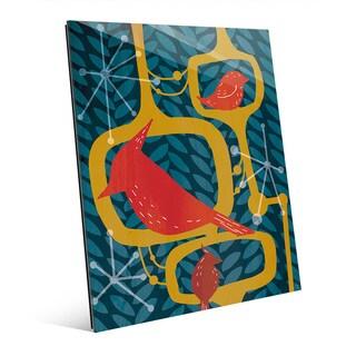 'Resting Birds' Acrylic Wall Art Print