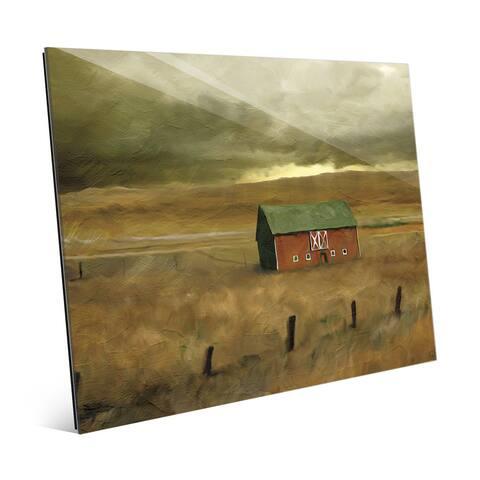 'Old Barn' Acrylic Wall Art Print