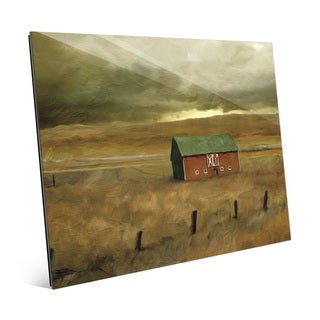 'Old Barn' Acrylic Wall Art Print