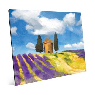 'Lavandula Church' Acrylic Wall Art Print